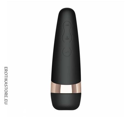 Satisfyer Pro 3 - Akkus Csiklóizgató, Fekete