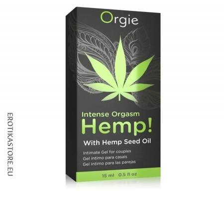 Orgie Hemp - Stimuláló Intim Gél