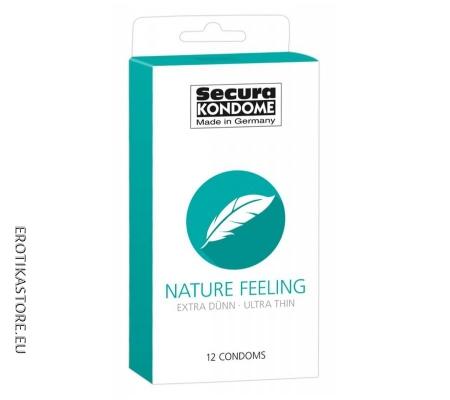 Secura Nature Feeling - Vékony óvszerek 12db